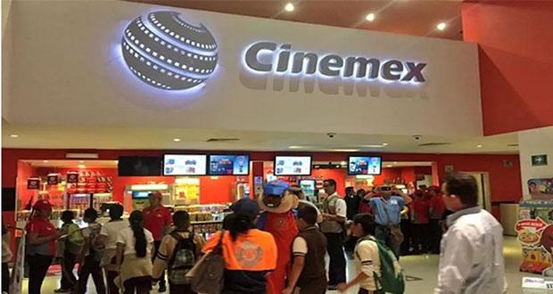 Cinemex limita a la mitad entrada a salas como medida de salud