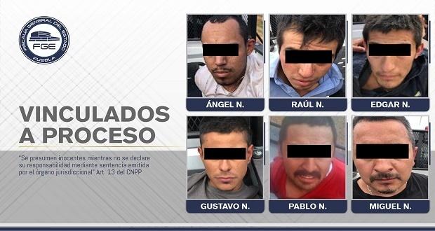 """Vinculan a proceso a banda de """"El Malo"""" detenida en Chignahuapan"""