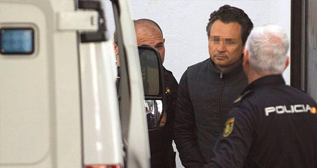 México solicita a España extraditar a Lozoya para enjuiciarlo