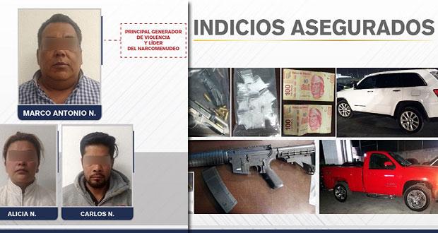 """Por secuestro exprés detienen al """"generador de violencia"""" en Puebla"""