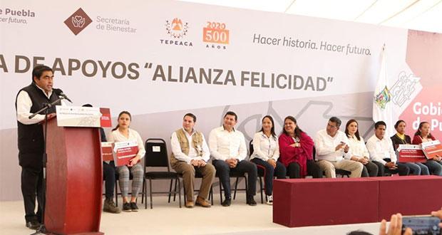 Gobierno invertirá más de 4 mmdp para reforzar seguridad en Puebla