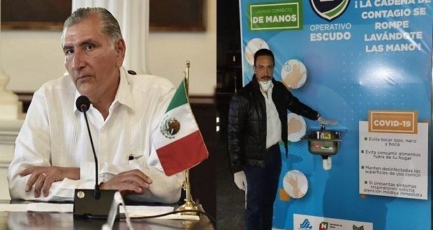 Gobernadores de Hidalgo y Tabasco dan positivo a Covd-19