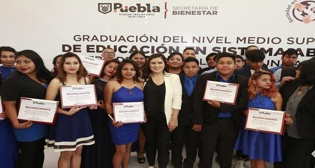 52 jóvenes se gradúan de Centros de Desarrollo Comunitarios