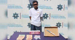 SCC detiene a presunto asaltante de Oxxo en Centro Histórico