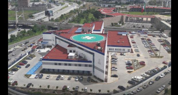Hospital General de Cholula será destinado para casos de Covid-19