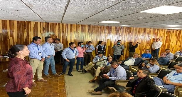 IMSS asegura hay insumos para trabajadores en Puebla