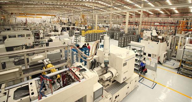 Valor de producción crece 30% en industrias de Puebla: Economía