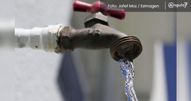 Elevan a 15 mil litros por mes consumo máximo para evitar corte en Puebla