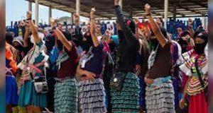 Mujeres del EZLN se sumarán a paro nacional feminista el 9 de marzo
