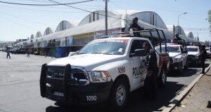 Tras decreto, Policía Estatal hace operatativo en mercado Morelos