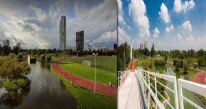Moreno Valle destinó 96 mdp a primera etapa de Parque Lineal y Parque del Arte