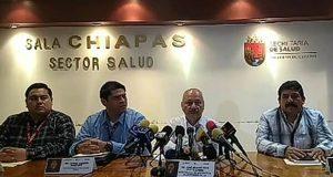 Confirman quinto caso de Covid-19 en México; ahora en Chiapas