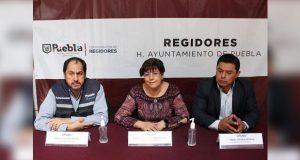 Inician regidores de Puebla jornada de sana distancia