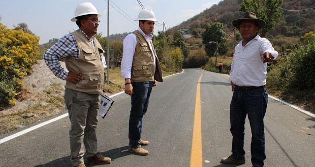 Avanza rehabilitación de rutas de evacuación en el Popocatépetl