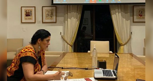 Ante Unesco, Cultura destaca plataforma y ayuda en contingencia