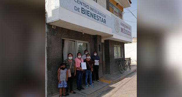Antorchistas de Zinacatepec y Altepexi solicitan apoyo alimentario