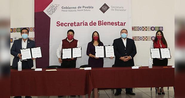 Apoya Bienestar con 13.7 mdp a Banco de Alimentos de Puebla