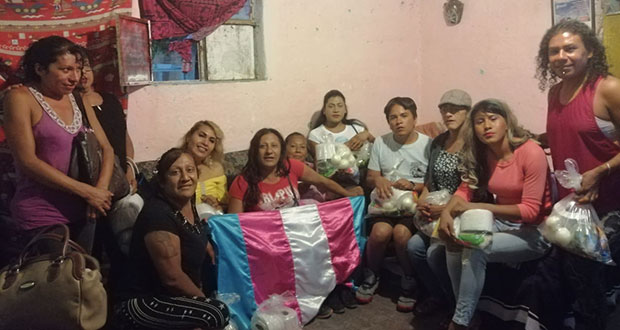 Asociación trans de Tehuacán exigen apoyos