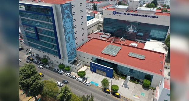 BUAP firma convenio para atender pacientes de hospitales estatales