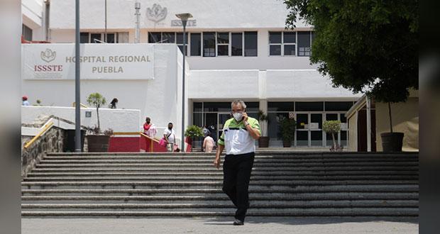 Camilleros del Issste exigen equipo de seguridad contra Covid-19