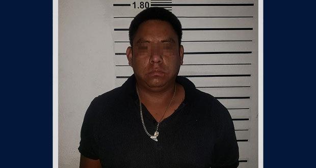 """Capturan a """"El Tavo"""", líder del robo a transporte de carga en Tehuacán"""