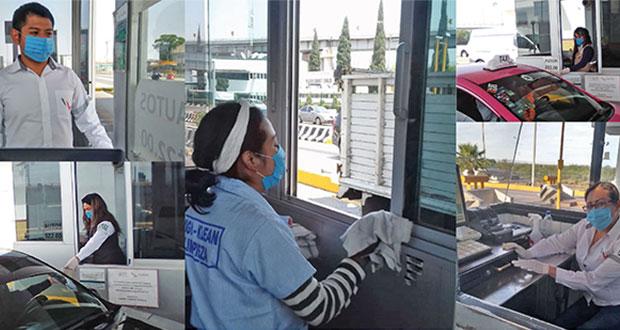 Capufe refuerza medidas de seguridad en carreteras por Covid-19