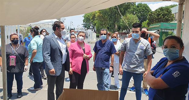 Diputados federales donan protección en La Margarita y San José