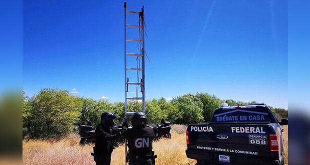 EU y México inhabilitan escaleras de frontera para evitar que crucen