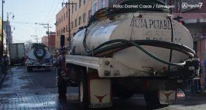 Gobierno contratará pipas de agua para abastecer arcos de seguridad y Cereso
