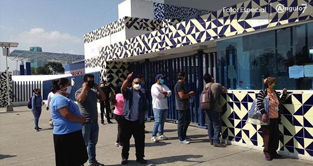 Hospital de Cholula pide medicinas e impide ver a enfermos, acusan