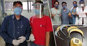 Ingeniero de Tecnm crea mascarilla para médicos que atiendan Covid-19