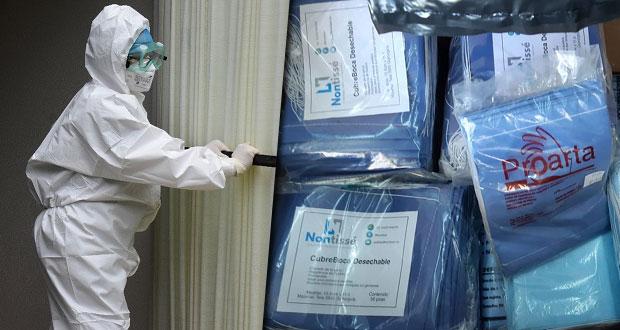 Issste compra 2.2 millones de insumos médicos contra Covid-19