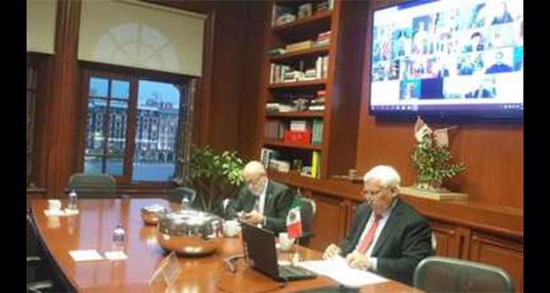 México exhorta a países del G20 a facilitar comercio de alimentos