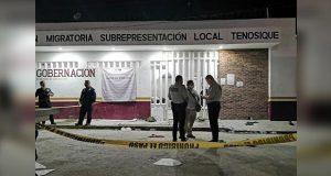 Motín en estación de Tenosique deja un migrante muerto y desalojo: INM