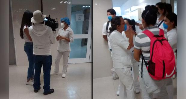 Personal del IMSS de San José se van a paro por falta de insumos