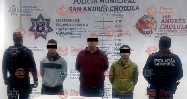 Policía de San Andrés detiene a tres sujetos por tentativa de robo