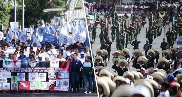 Puebla, sin desfiles del 1 y 5 de Mayo; el segundo, cancelado ya dos veces