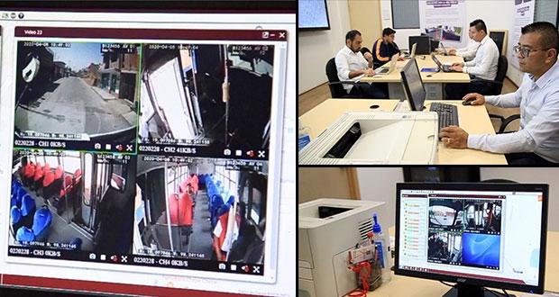 SMT monitorea unidades de transporte público que cuentan con cámaras