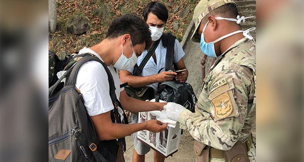 Con apoyo de SRE, dos mexicanos desembarcan en Panamá tras 19 días