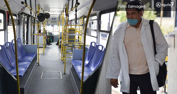 Servicios gratuitos de RUTA y de taxi para médicos, anuncia Barbosa