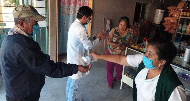 Tepexi invita a seguir medidas sanitarias contra Covid-19