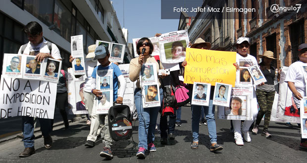 Localizan a dos personas desaparecidas de Puebla; el logro, de las familias