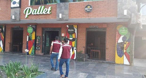 Ayuntamiento insiste a bares a cierre temporal por contingencia