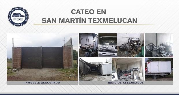 En San Martín, Fiscalía catea inmueble con autopartes robadas