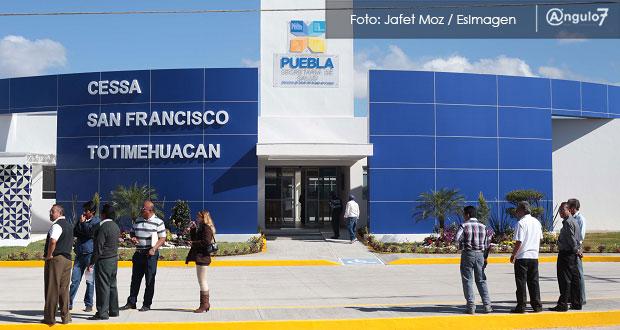 Se reconvertirán Cessas de Puebla para atender a pacientes Covid-19: Barbosa