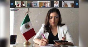 Participa Rivera en encuentro virtual sobre políticas contra Covid-19