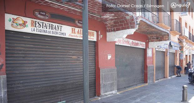 Más de 2,200 comercios de Puebla capital ya no abrirían por Covid-19: Canaco