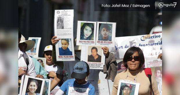 Acepta comisionada de Búsqueda de Puebla que no hay contacto con colectivos