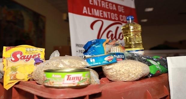 Entrega ayuntamiento de San Andrés Cholula más de mil despensas