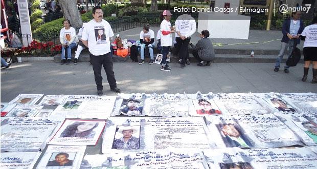 Estar en casa por Covid, doble martirio para familiares de desaparecidos
